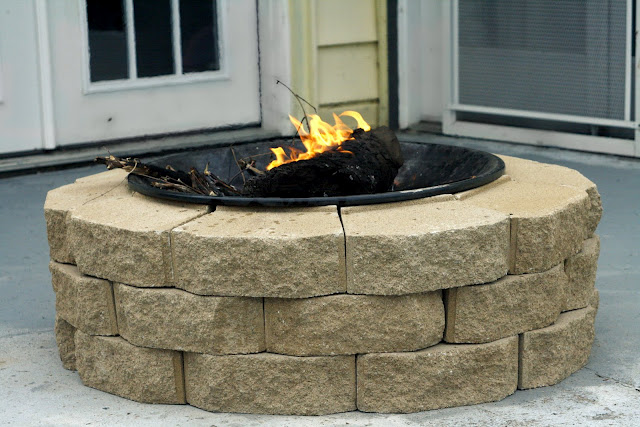 Besser Block Fire Pit Tutorial