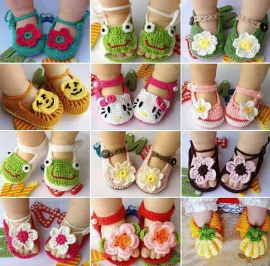 baby booties crochet free patterns