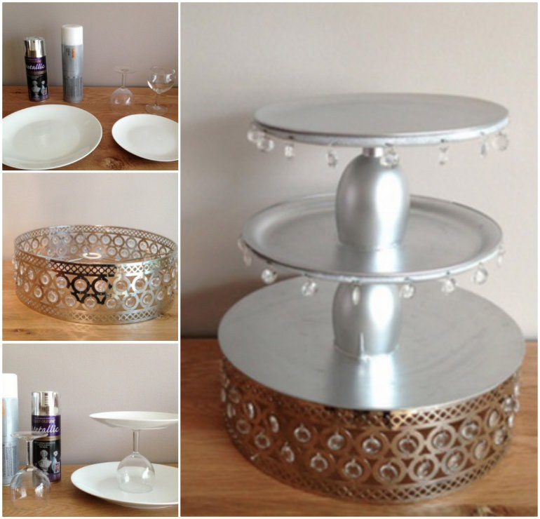 Tiered Cake Stand Handles