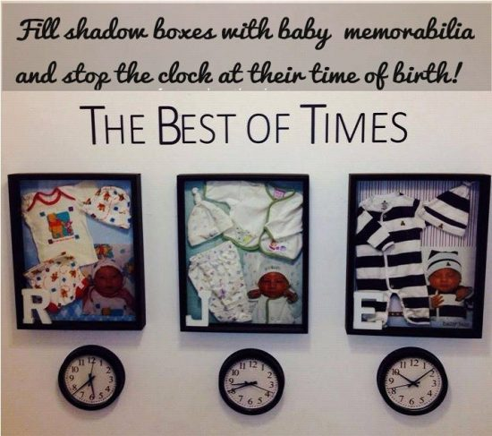 The best of times Baby Memorabilia
