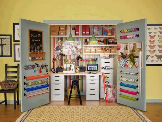 craft storage ideas that will change your world | the whoot Storage Ideas Cupboard