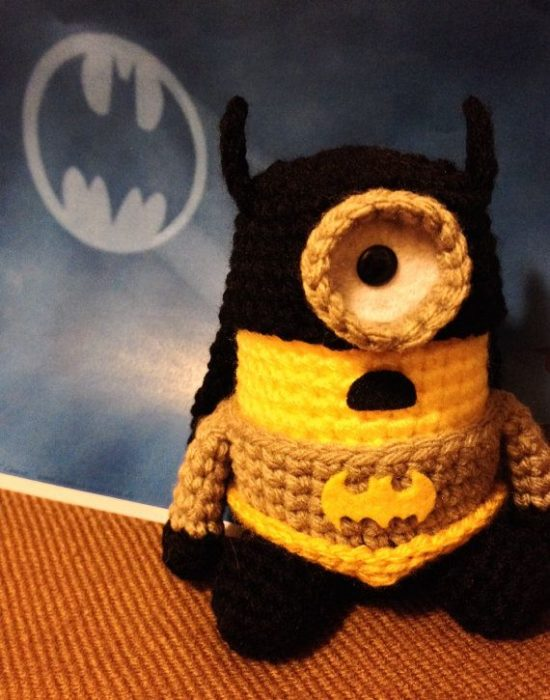 Batman Crochet Minion