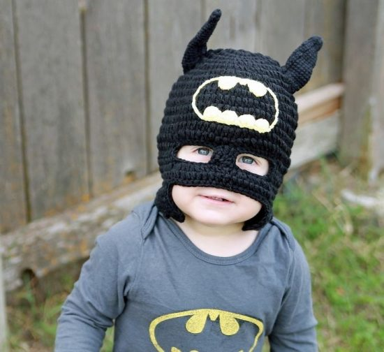 Crochet Batman Hat Free Pattern
