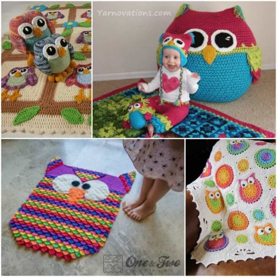 Check Out This Cute Collection Of Crochet Owl Projects The Whoot