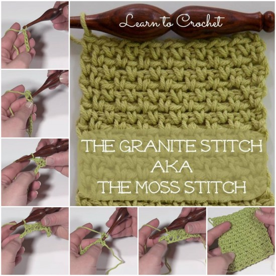 The Granite Stitch AKA The Moss Stitch
