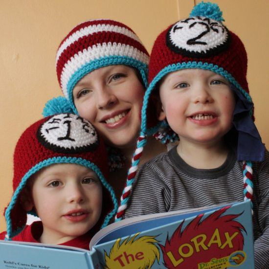 Dr. Seuss Crochet Hats FREE Pattern