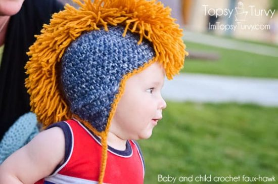Crochet Mohawk Hat Ideas Youll Love Video Tutorial