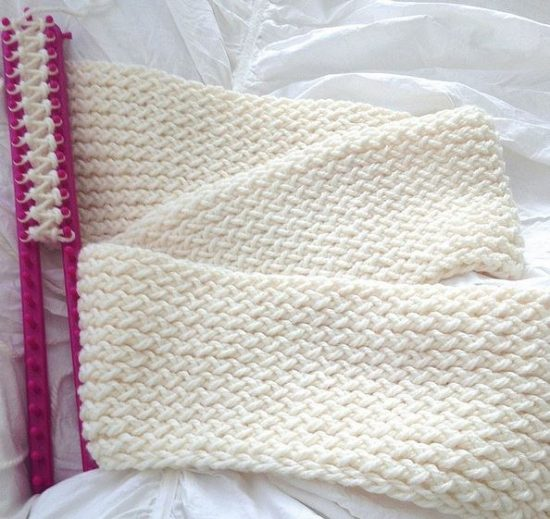 Knitted Loom Scarf Patterns
