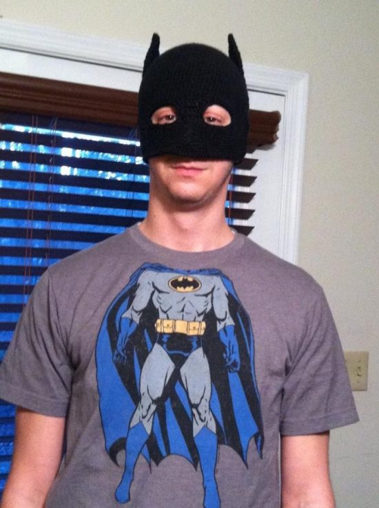 Batman Mask Free Pattern
