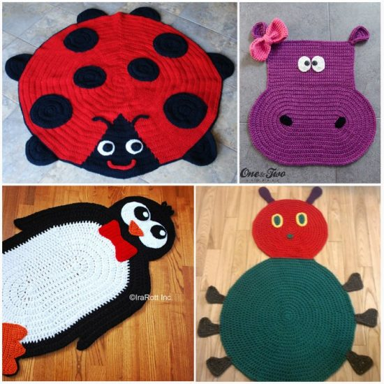 Crochet Animal Rug Patterns