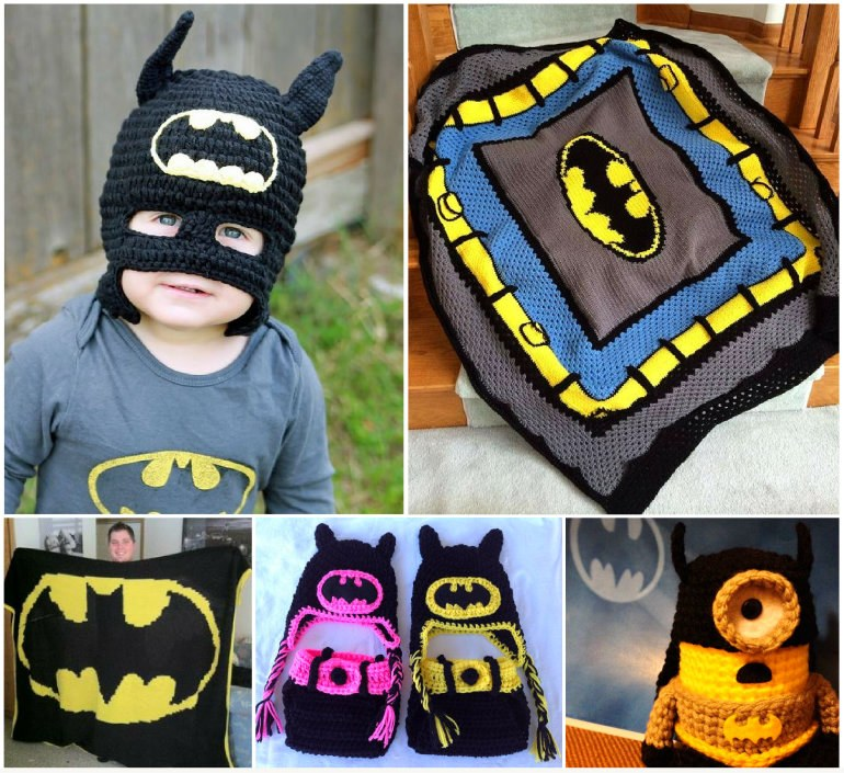 Crochet Batman Items