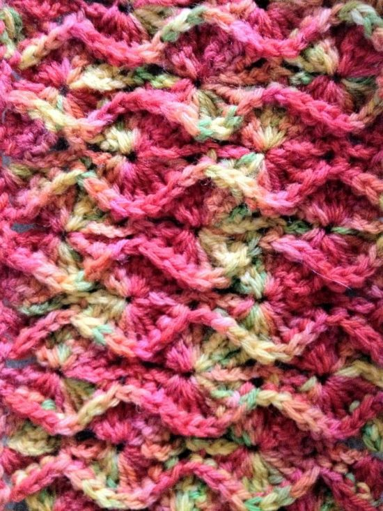 Bavarian Square Crochet Free Pattern