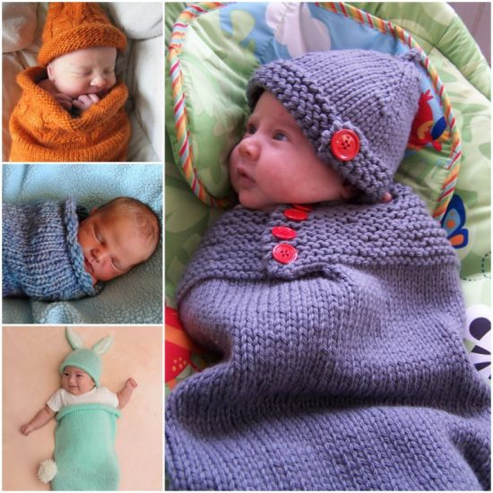bd7395022 Knitted Baby Cocoons Free Patterns You Will Love