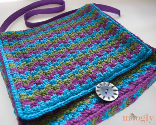 Crochet Messenger Bag Pattern Watch The Video Tutorial