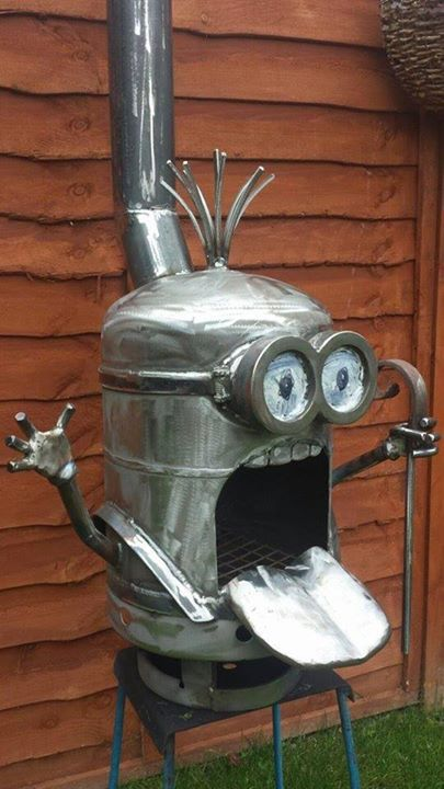 Minion Barbecue Fire Pit