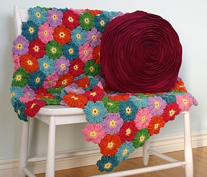 Wild Flower Crochet Blanket