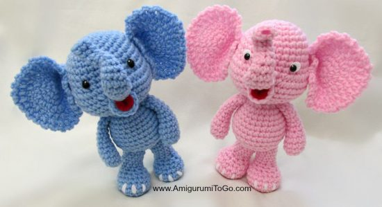 Baby Elephant Free Crochet Patterns