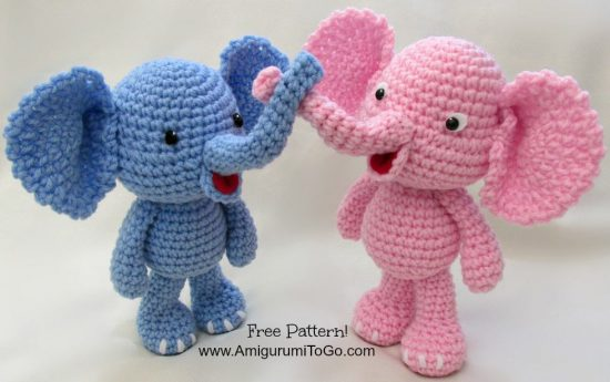 Elephant Crochet Lots of Adorable Patterns | The WHOot
