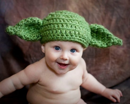 Crochet Yoda Hat Pattern - lots of Star Wars Free Crochet Patterns on our  site 2a2f291cec4