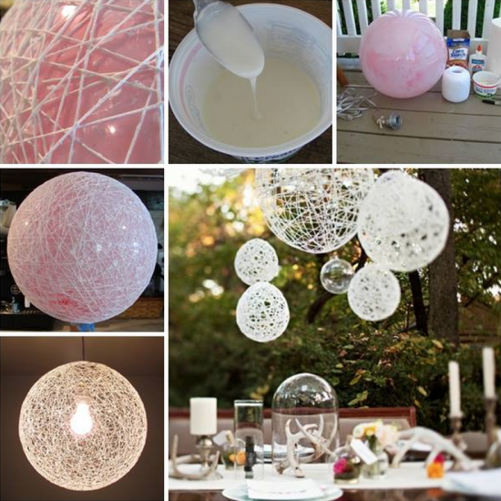 Balloon String Chandeliers