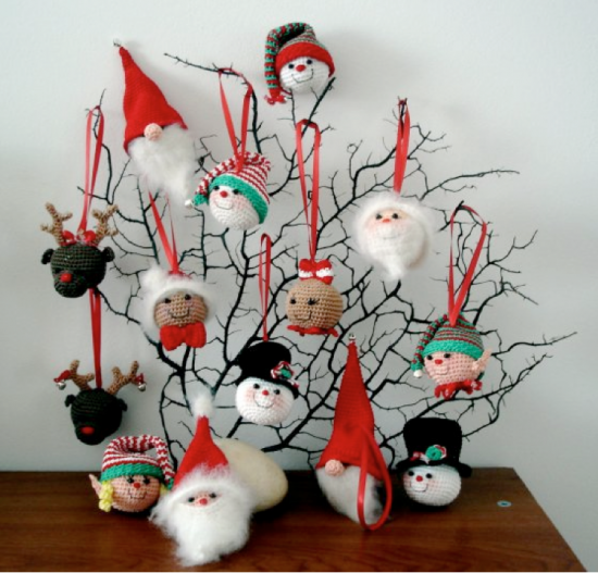 Christmas Ornament Free Crochet Patterns