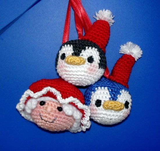 Christmas Ornaments Free Crochet