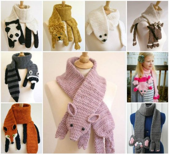 Crochet Animal Scarves Patterns You Ll Love Video Tutorial