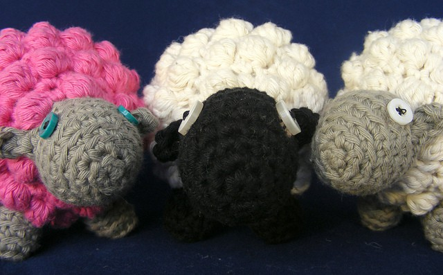 Crochet Bobble Sheep Free Patterns