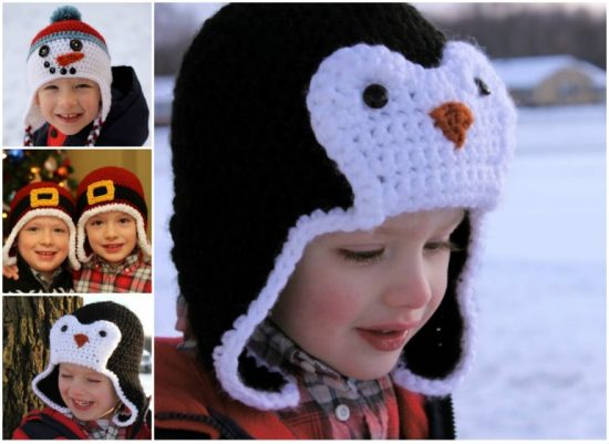Crochet Christmas Hats FREE Patterns
