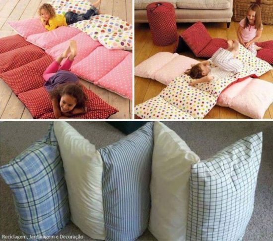 how to make your own bed pillow
