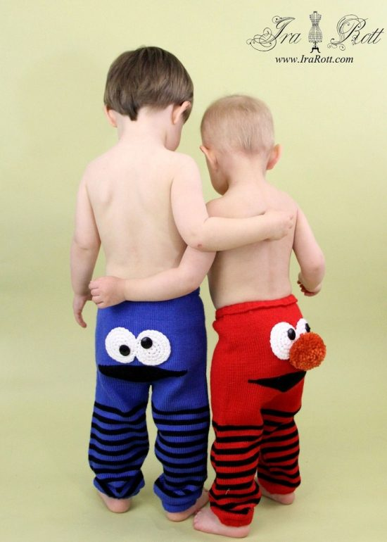 Knitted Monster Pants Pattern
