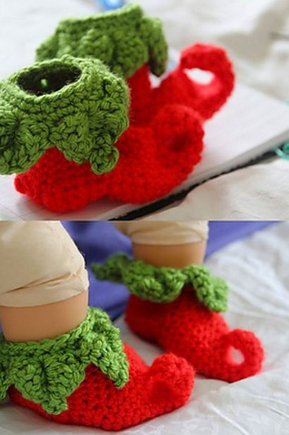 Free Crochet Christmas Slippers You Ll Love These Ideas