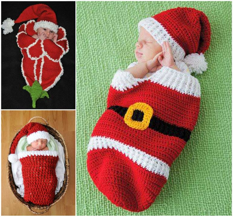 Adorable Christmas Cocoon Patterns
