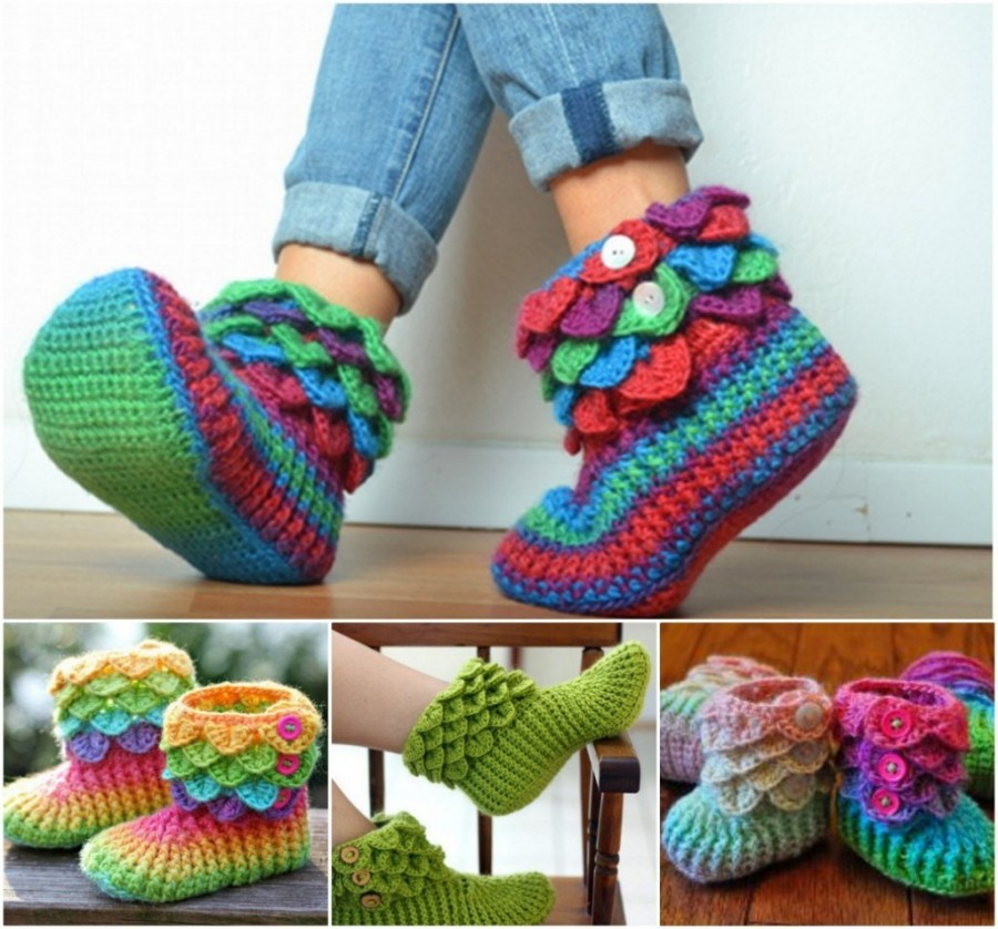 Crochet Slippers Best Collection The Whoot