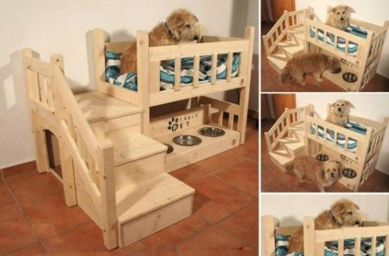 Easy Diy Pallet Dog Bed Easy Craft Ideas