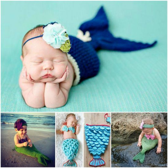 Mermaid Crochet Projects