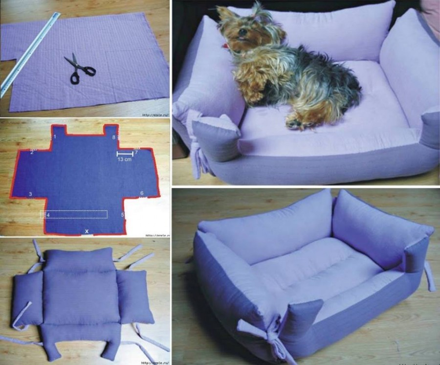 Diy Pillow Pet Beds Your Furbabies Will Love The Whoot