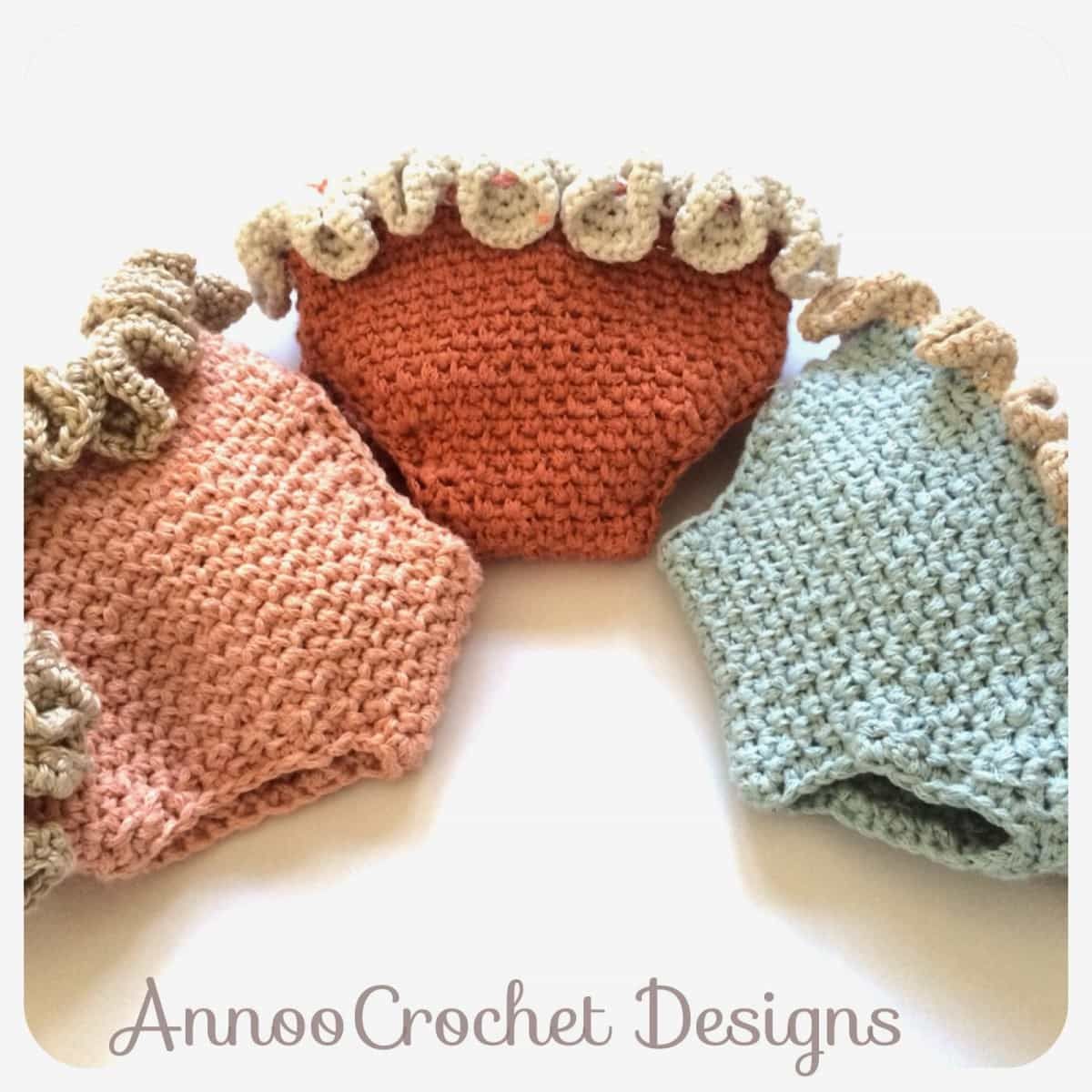 Crochet ruffled newborn diaper cover the whoot bankloansurffo Images