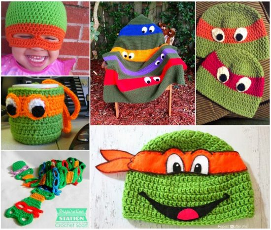 Teenage Mutant Ninja Turtle Crochet Pattern | Make | :467x550