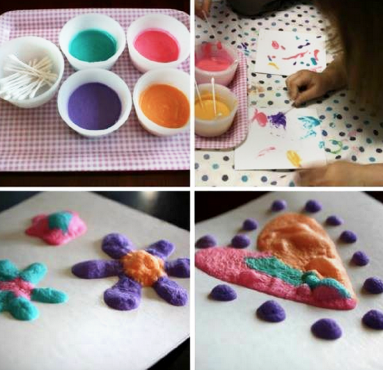 3 Ingredient Puffy Paint Tutorial