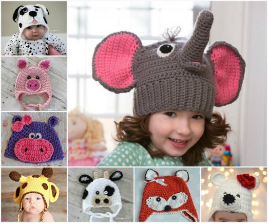 Free Crochet Baby Animal Hats Pinterest Top Pins