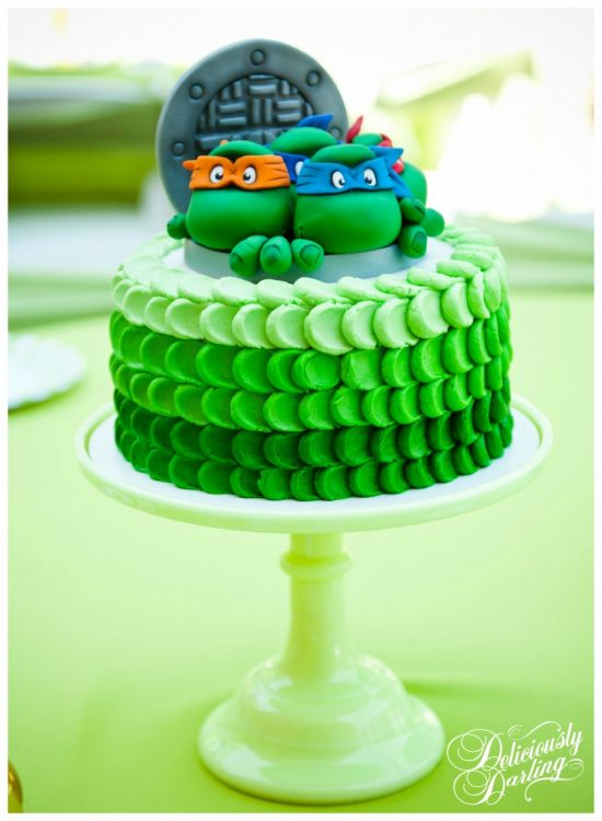 Teenage Mutant Ninja Cake Lots Of Cute Ideas For Your Party