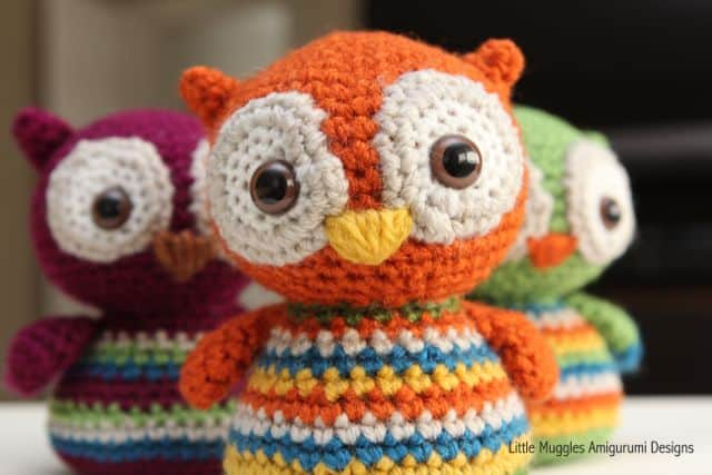 Free Amigurumi Owl Pattern : Owl amigurumi pattern cutest crochet ideas video tutorial