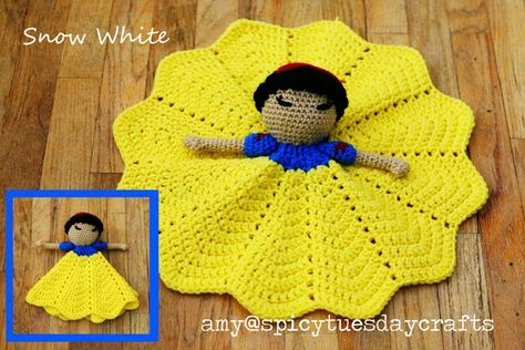 Snow White Lovey Blanket
