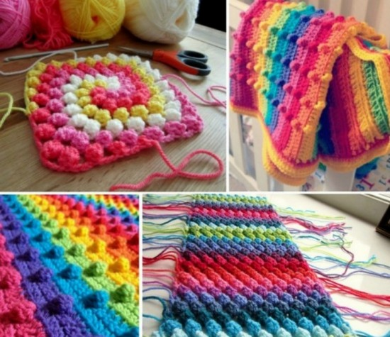 Bobble Stitch Crochet