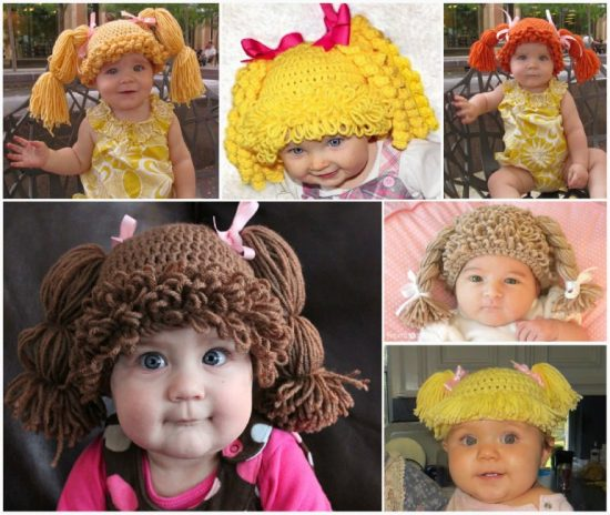 Cabbage Patch Hats Free Crochet Patterns
