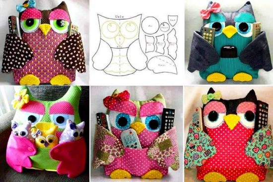 Owl Remote Control Holders