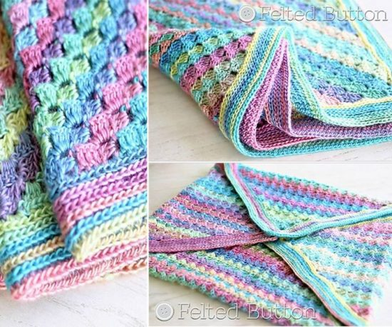 Spring into Summer Crochet Blanket Free Pattern