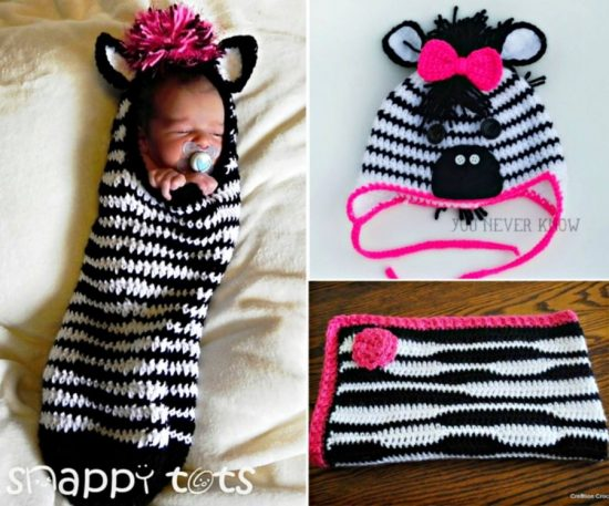 Zebra Crochet Projects
