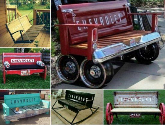 Chevrolet Tailgate Benches